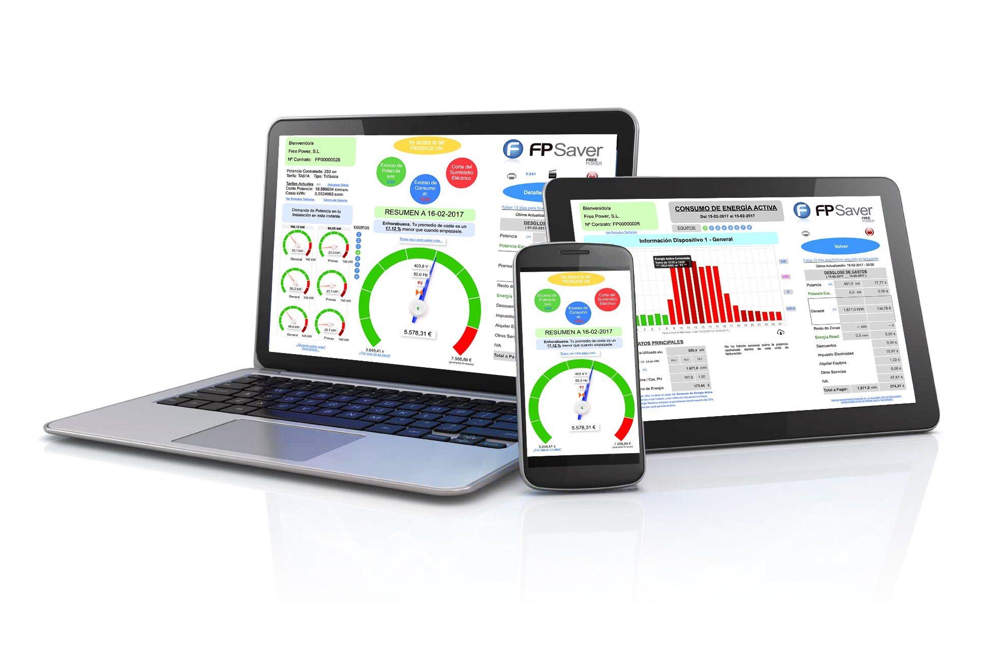 monitor consumo electrico